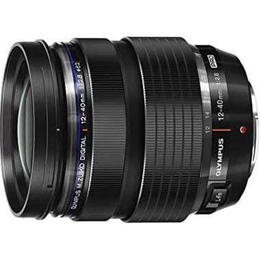 Olympus M.Zuiko Digital ED 12-40mm F2.8 PRO Objektiv (Universalzoom, geeignet für alle MFT-Kameras, Olympus OM-D und PEN Modelle, Panasonic G-Serie)