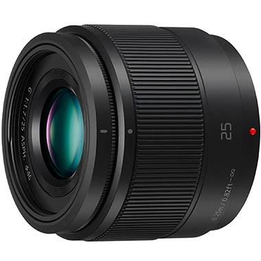Panasonic H-H025E LUMIX G Festbrennweiten 25 mm F1.7 ASPH. Objektiv